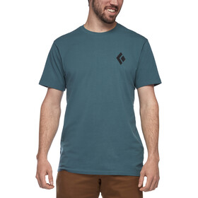 Black Diamond Equipment for Alpinist Camiseta Manga Corta Hombre, raging sea